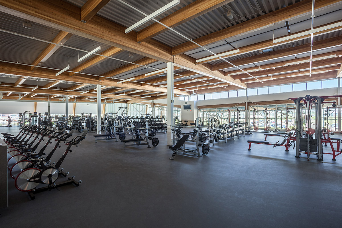 Remington YMCA fitness room