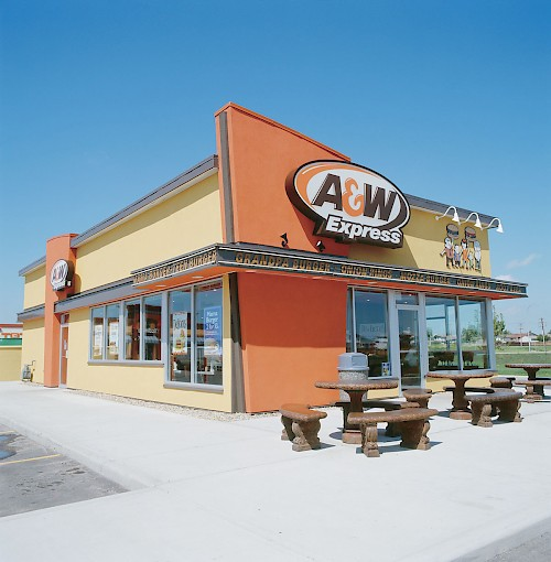 Sample of Retail & Public Spaces Projects from the archives A & W Food Services Canada